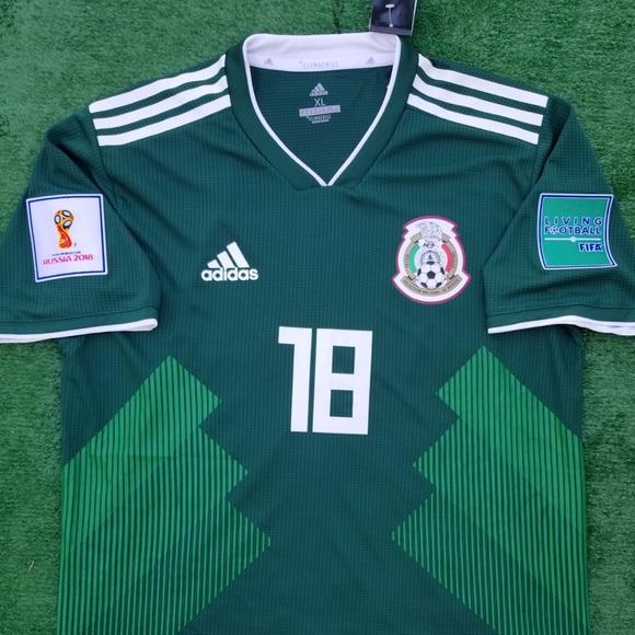 3eb861c7b adidas Shirts | 2018 Mexico Soccer Jersey Guardado | Poshmark